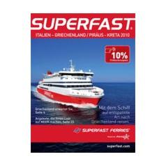 superfast ferries f hrverbindungen ab italien nach griechenland und ab pir us nach kreta katalog. Black Bedroom Furniture Sets. Home Design Ideas