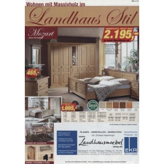 Wohnen im Landhaus Stil Katalog